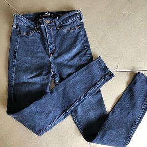 HOLLISTER JEAN LEGGING / 3R / blue /stretch